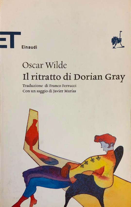 """Copertina del romanzo """"Il ritratto di Dorian Gray"""" di Oscar Wilde"""