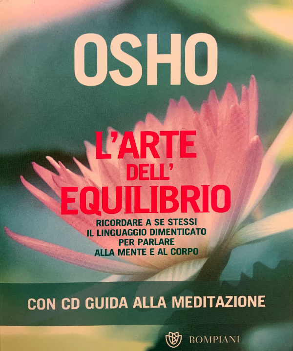 """Copertina del libro """"L'arte dell'equilibrio"""" di Osho del 2003"""