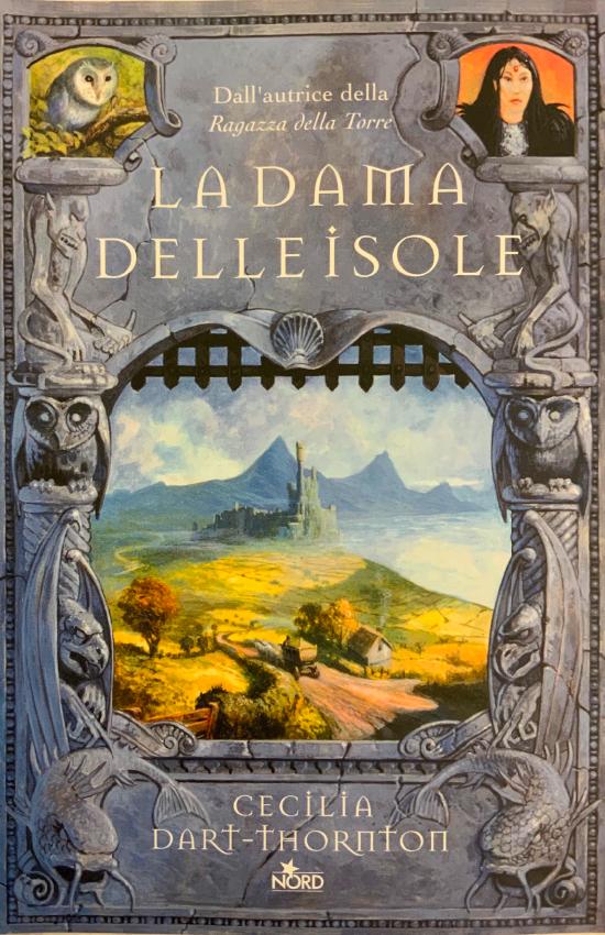 """Copertina del libro """"La dama delle isole"""" di Cecilia Darth-Thornton del 2002"""