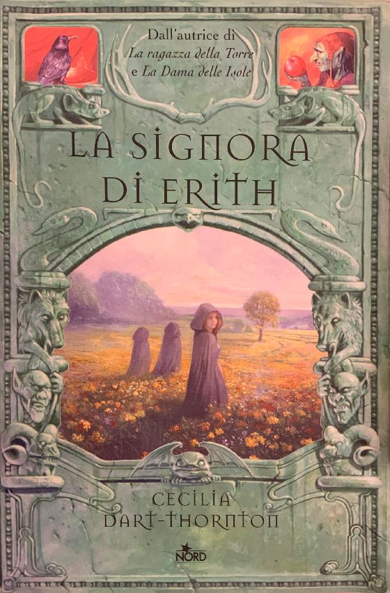 """Copertina del libro """"La Signora di Erith"""" di Cecilia Darth-Thornton del 2003"""