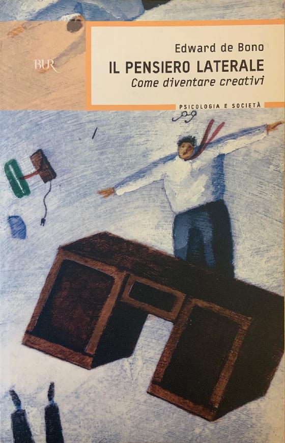 """Copertina del libro """"Il pensiero laterale"""" di Edward de Bono del 1967"""